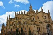 Segovia Cathedral in Segovia, Spain.