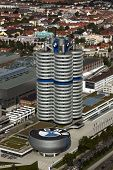 Munich, Germany - September 5, 2010: BMW headquarters building, the so called