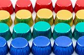 Colorful Aluminum Cup Cake Foil