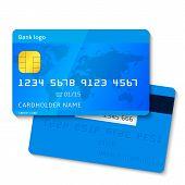 Blue credit card