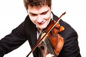 stock photo of violin  - Art and artist - JPG