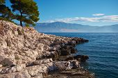 Croatia, adriatic sea background beach