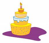 1-year cake