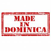 Made In Dominica-stamp