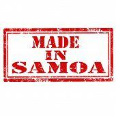 Made In Samoa-stamp