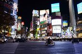 Tokyo, Japan - November 28: Shibuya Is Known As A Youth Fashion Center In Japan