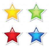 Stars in 4 colors