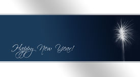 picture of happy new year 2013  - A card as template for new year - JPG