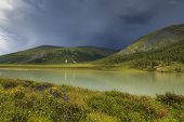 Mountain Lake, Altai, Russia