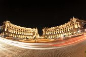Rome night cityscape