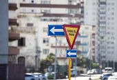 Traffic signs in Havana