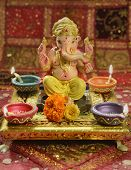 picture of pooja  - A statue of a mythological elephant god  - JPG