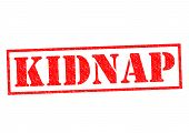 image of kidnapped  - KIDNAP red Rubber Stamp over a white background - JPG