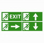 Exit boarders collection isolated