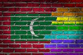 Dark Brick Wall - Lgbt Rights - Maldives