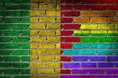 Dark Brick Wall - Lgbt Rights - Mali
