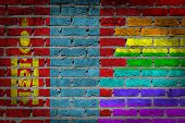 Dark Brick Wall - Lgbt Rights - Mongolia