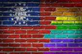 Dark Brick Wall - Lgbt Rights - Myanmar