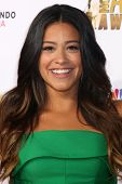 LOS ANGELES - OCT 10:  Gina Rodriguez at the 2014 NCLR ALMA Awards Arrivals at Civic Auditorium on October 10, 2014 in Pasadena, CA
