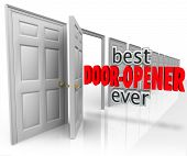 Best Door Opener Ever 3d words for selling to customers with successful results