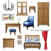 furniture icons for your designs