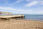 Beach and Jetty, Swanage, Dorset