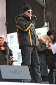Leading the rally for fair elections, a music critic Artemy Troitsky
