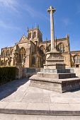 Sherborne Abbey And War Memorial