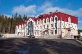 Sports Hotel Complex Aist On Mount Long In  Nizhny Tagil. Russia