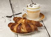 Coffee And Croissant