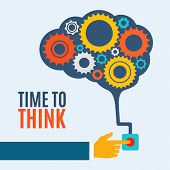 stock photo of thinking  - Time to think - JPG