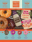 Donuts website design elements