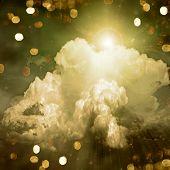 Light In Clouds
