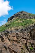 Arthurs seat near Edinburgh
