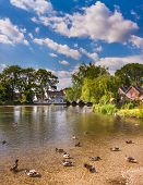 Fordingbridge And The River Avon In Hampshire