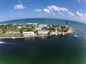 Aerial View Of Coastal Florida