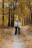 pretty elderly couple