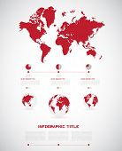 Timeline Infographic. Vector design template
