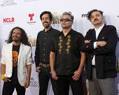 LOS ANGELES - OCT 10:  Cafe Tacvba at the 2014 NCLR ALMA Awards Arrivals at Civic Auditorium on October 10, 2014 in Pasadena, CA