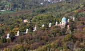 ZAGREB, CROATIA - OCTOBER 14: Mirogoj cemetery in Zagreb on October 14, 2007 Zagreb, Croatia.