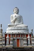 HOWRAH, INDIA - FEBRUARY 14: Buddhist temple in Howrah, West Bengal, India on February 14, 2014