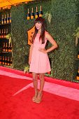 LOS ANGELES - OCT 11:  Hannah Simone at the Fifth-Annual Veuve Clicquot Polo Classic at Will Rogers State Historic Park on October 11, 2014 in Pacific Palisades, CA