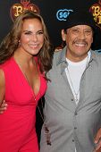 LOS ANGELES - OCT 12:  Kate del Castillo, Danny Trejo at the