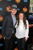 LOS ANGELES - OCT 12:  Jesse y Joy at the