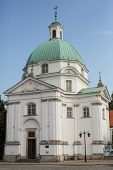 Church, Old Town, Warsaw, Poland