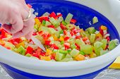 Fresh Pepper Salad Mix