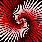 Design Colorful Spiral Movement Background