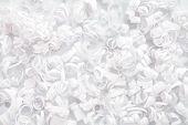 White Paper Streamer Decoration