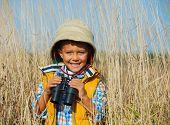 Young safari boy.