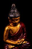 Oriental Buddist Statue Isolated